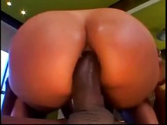 Hot Milf With Big Round Ass Takes Black Dick In Ass