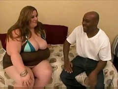 Huge BBW Gets Pounded By Black Dude
